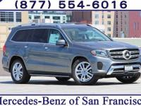 Grey 2017 Mercedes-Benz GLS GLS450 4MATIC®