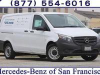 White 2017 Mercedes-Benz Metris Cargo RWD 7G-TRONIC