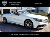 2017 Mercedes-Benz S-Class AMG S 63 4MATIC 4MATIC,