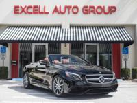 Introducing the 2017 Mercedes Benz S63 AMG Convertible.
