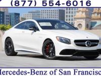White 2017 Mercedes-Benz S-Class S63 AMG®