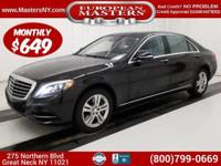 This Amazing Black 2017 Mercedes-Benz 4Matic S550 Sedan