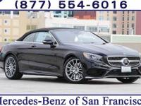 Obsidian 2017 Mercedes-Benz S-Class S550 RWD 9-Speed