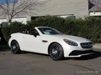2017 SLC43 AMG 2 seat retractable hard top roadster in
