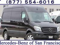 Jet Black 2017 Mercedes-Benz Sprinter 2500 Crew 144 WB