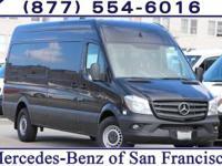 Jet Black 2017 Mercedes-Benz Sprinter 2500 Passenger