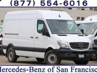 White 2017 Mercedes-Benz Sprinter 2500 Cargo 144 WB RWD