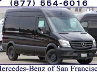 Jet Black 2017 Mercedes-Benz Sprinter 2500 Cargo 144 WB