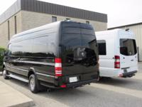 2017 Mercedes Benz Sprinter Cruise Master.  Black on