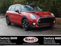 MINI Certified Pre-Owned! This 2017 MINI Cooper Clubman