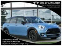 2017 Mini Cooper Clubman digital blue