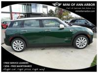 2017 Mini Cooper Clubman British Racing Green
