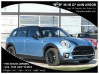 2017 Mini Cooper Clubman digital blue