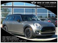 2017 Mini Cooper Clubman 34/25 Highway/City MPG