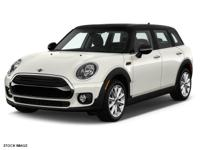 Options:  2017 Mini Clubman Cooper All4|3 Cylinder