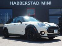 Bold and beautiful, this 2017 MINI Clubman Cooper
