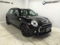 Sunroof, NAV, Heated Seats, MINI YOURS PIANO BLACK