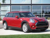2017 Mini Cooper S Clubman Blazing Red Carfax