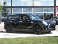 2017 Mini Cooper S Clubman Midnight Black MetallicABOUT