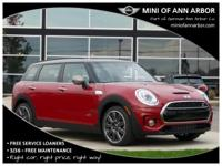 2017 Mini Cooper S Clubman blazing red