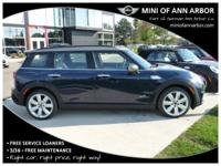 2017 Mini Cooper S Clubman 31/22 Highway/City MPG