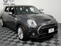 This outstanding example of a 2017 MINI Clubman Cooper