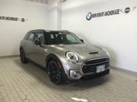 FUEL EFFICIENT 30 MPG Hwy/21 MPG City! MINI Certified,