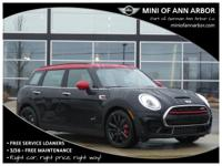 2017 Mini John Cooper Works Clubman Midnight Black