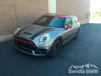 Options:  Wheels: 18 X 8.0 Jcw Black Grip Spoke|John