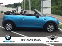 2017 MINI Cooper Convertible Electric Blue Metallic
