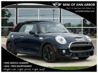 2017 Mini Cooper S Base  Options:  Wheels: 16 X 6.5