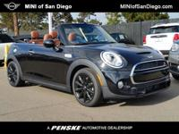 This 2017 MINI Cooper S Convertible 2dr features a 2.0L
