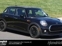MINI Certified, Excellent Condition, GREAT MILES 9,834!