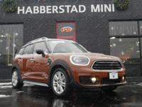 Elegantly expressive, this 2017 MINI Countryman Cooper
