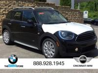 2017 MINI Cooper Countryman ALL4 Midnight Black