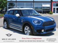 2017 MINI Cooper Countryman All4 Island Blue Metallic