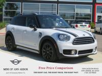 2017 MINI Cooper Countryman Cooper Light White  And