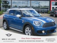 2017 MINI Cooper Countryman Cooper Island Blue Metallic