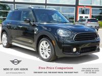 2017 MINI Cooper Countryman Cooper Midnight Black