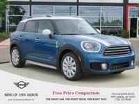 2017 MINI Cooper Countryman All4 - Island Blue Metallic