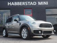 Bold and beautiful, this 2017 MINI Countryman Cooper