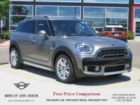 2017 MINI Cooper S Countryman All4 Silver Metallic AWD.