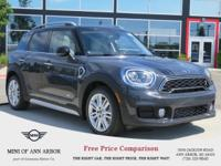 2017 MINI Cooper S Countryman Cooper S Thunder Gray