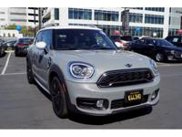 Options:  2017 Mini Countryman Cooper S|Cooper S 4Dr