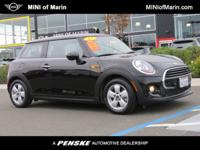 Turbocharged! Gasoline! MINI has outdone itself with