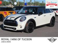 This sporty MINI Cooper S will get your heart pumping!