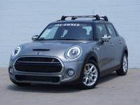 *MINI CERTIFIED PRE-OWNED WARRANTY THROUGH APRIL 2022