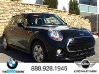 2017 MINI Cooper Midnight Black Metallic 1.5L 12V