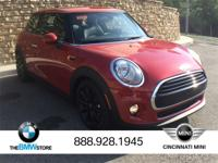 2017 MINI Cooper Blazing Red Metallic 1.5L 12V