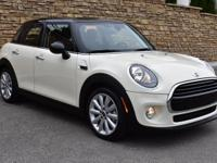 2017 MINI Cooper 4-door Hardtop. Pepper White 1.5L 12V